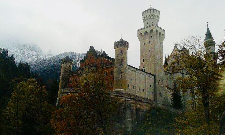 #castle on the hill #Deutschland #Germany #Füssen