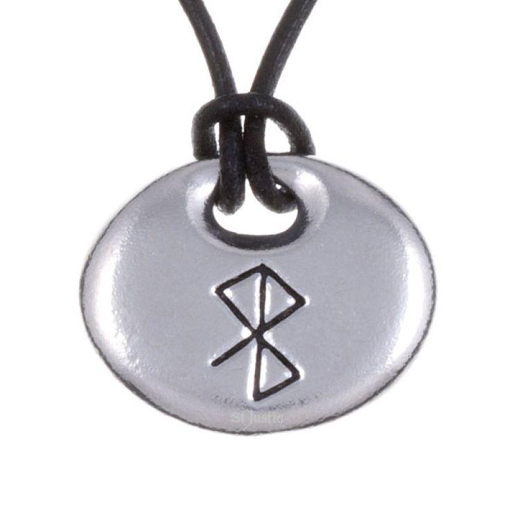 Bind Rune Pendant - Peace & Happiness