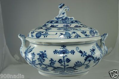 Meissen Blue onion...WOW♥♥♥♥!