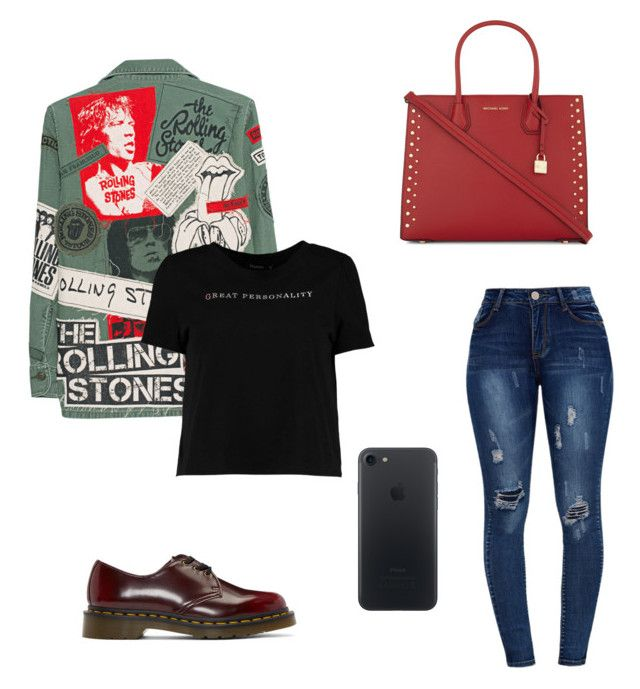 """S W A G"" by ricardocamacho on Polyvore featuring moda, Dr. Martens, MadeWorn, Boohoo y MICHAEL Michael Kors"