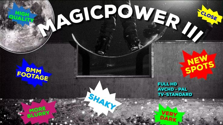 MAGICPOWER III #boardsnwheels #snowboarding #snowboard #extreme #actionsports