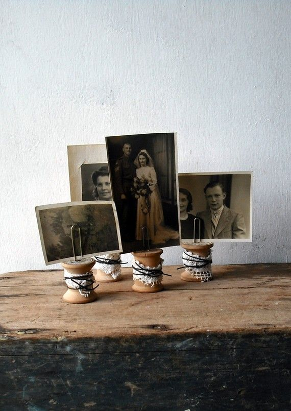 Cute idea for picture holders