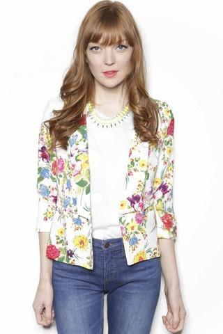 UNDER SKIES Floral Blazer // $118
