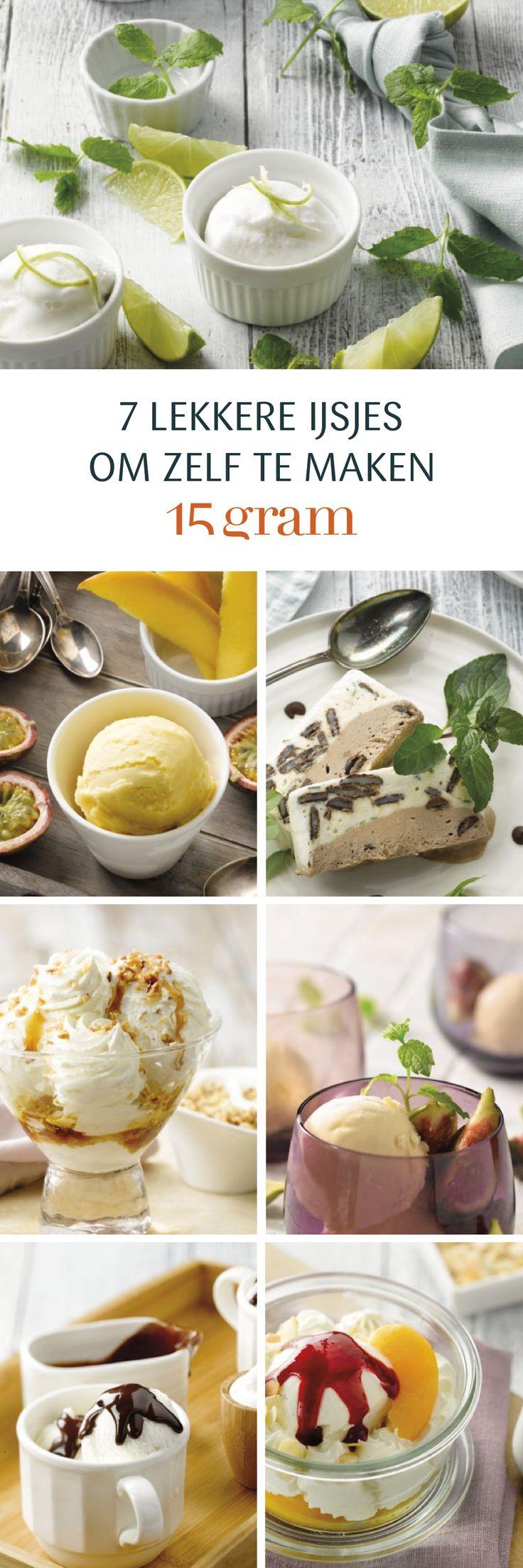 Ik ben dol op dessert en dat is algemeen geweten. Wie mijn blog volgt, weet dat meer dan de helft van mijn recepten zoet zijn: gebak, dessertjes,… het kan niet op. Daar waar ik in de winter het vaakst kies voor taart, gaat mijn voorkeur in de zomer steevast uit naar ijs. I scream for icecream! Alle soorten ijsjes: roomijs in een hoorntje of uit een kommetje, een frisse sorbet of een 'schelleke' semifreddo, het kan me allemaal bekoren!