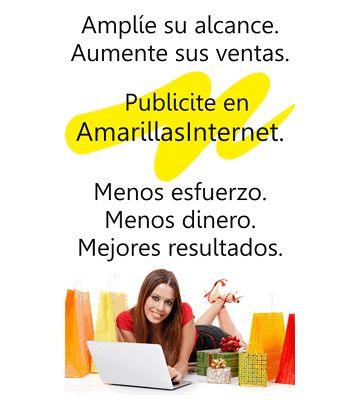 Asesora de Publicidad On-Line:  PUBLICIDAD PARA SU NEGOCIO EN INTERNET http://productos.amarillasinternet.com/futurolife/