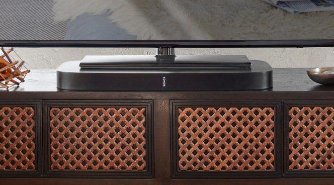 Playbase: der neue TV-Lautsprecher zum Multiroom-Audiosystem von Sonos.