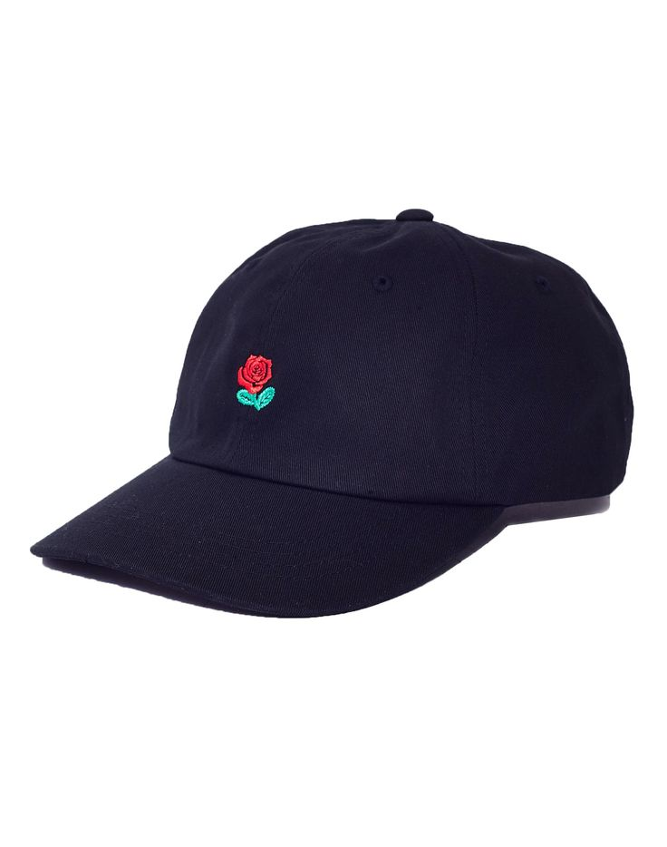 The Hundreds Rose Strapback Black £34.90 | Shop Now at TheIdleMan.com | #StyleMadeEasy