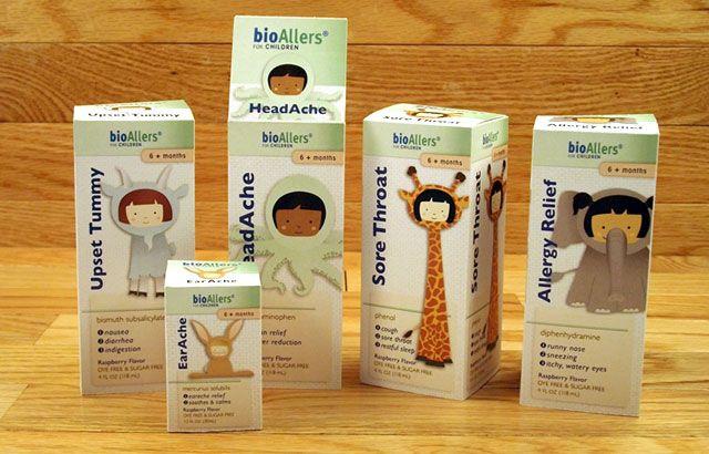 adorable children's medicine #packaging PD