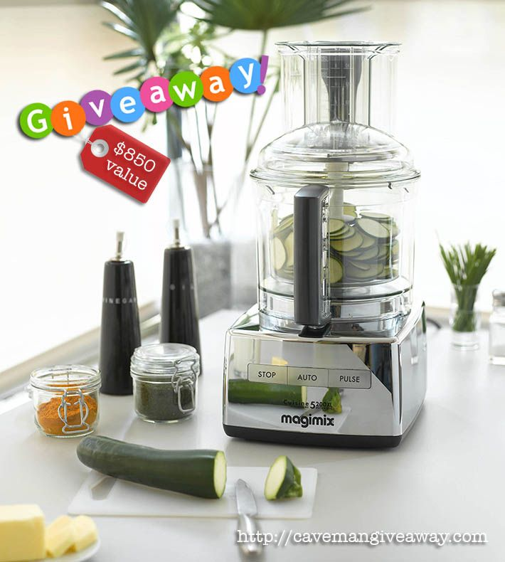 I am excited to giveaway this $850 16-Cup Food Processor.  Takes less than 10 seconds to enter :) #free #giveaway #food