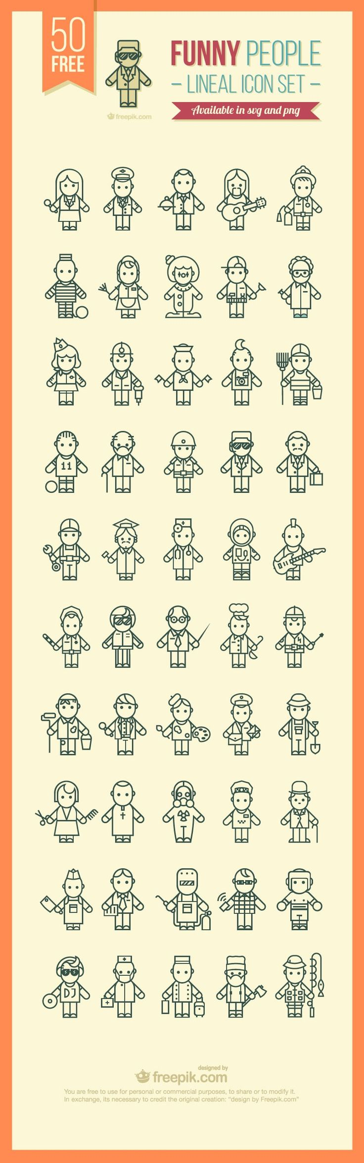 ⬇ Free download: Funny people icons                                                                                                                                                                                 More
