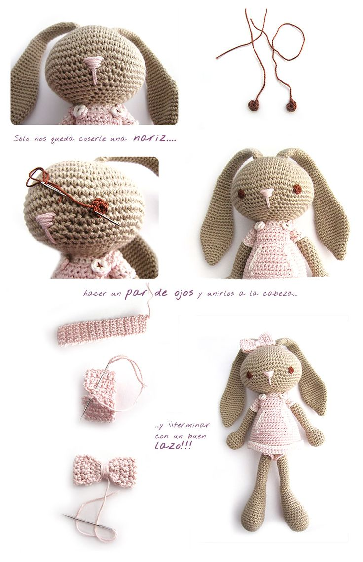 Free pattern and step-by-step photo's AMIGURUMI