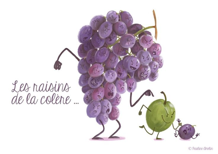 FRUITS & LEGUMES - Pauline Amelin