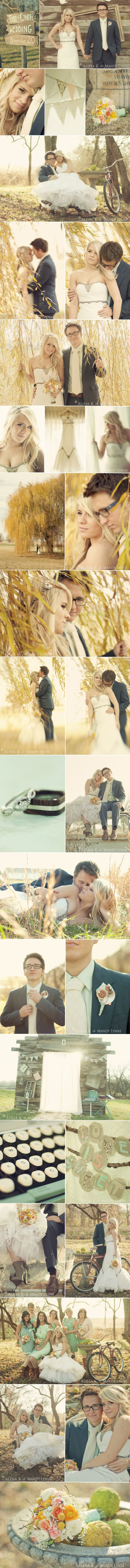 Love vintage styled weddings!