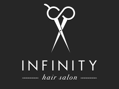 Infinity Hair Salon Logo by Luis Gutierrez, via Behance