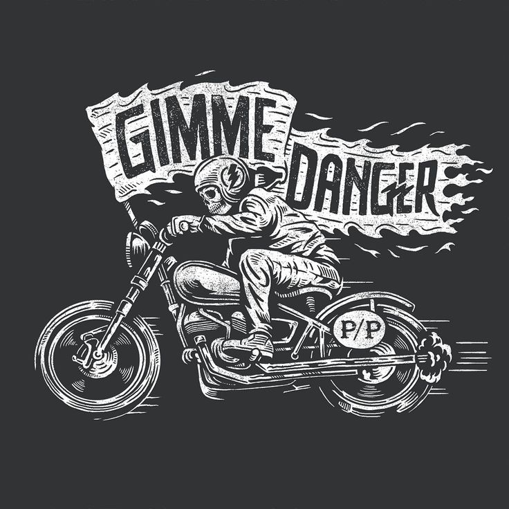"1,012 Likes, 14 Comments - Derrick Castle (@strawcastle) on Instagram: ""I just posted a new t-shirt design in the etsy shop. Link in profile. Gimme Danger will also be…"""