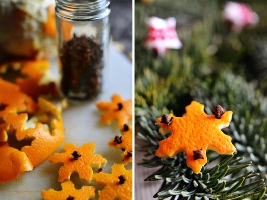 Orange-Clove Ornaments
