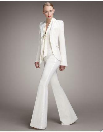 Women White Pants Suits | Pants Market