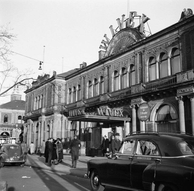 Wivex på Vesterbrogade i 1954