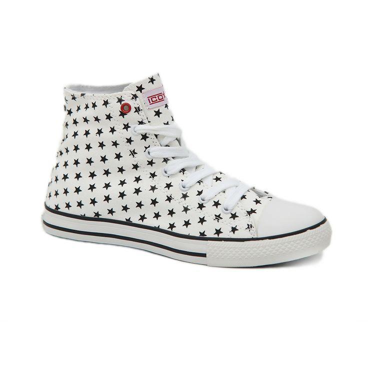 Πάνινα sneakers I-Conv.Η ενισχυμένη σόλα και ο μαλακός πάτος το καθιστούν σταθερό άνετο σε κάθε βήμα.Ιδανικό για άνετες και μοντέρνες εμφανίσεις.