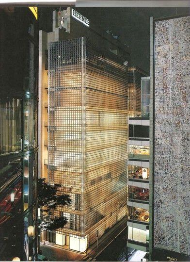 Maison Hermes   Renzo Piano   Tokyo
