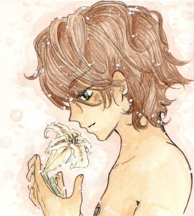 My golden lily..-Meru Puri by EriKooriKo on deviantART