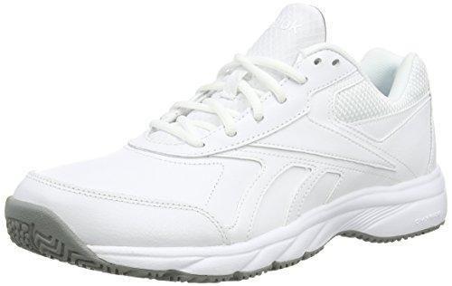 Oferta: 55€ Dto: -42%. Comprar Ofertas de Reebok Work N Cushion 2.0, Zapatillas de Deporte Para Hombre, Blanco / Gris (White/Flat Grey), 42 1/2 EU barato. ¡Mira las ofertas!