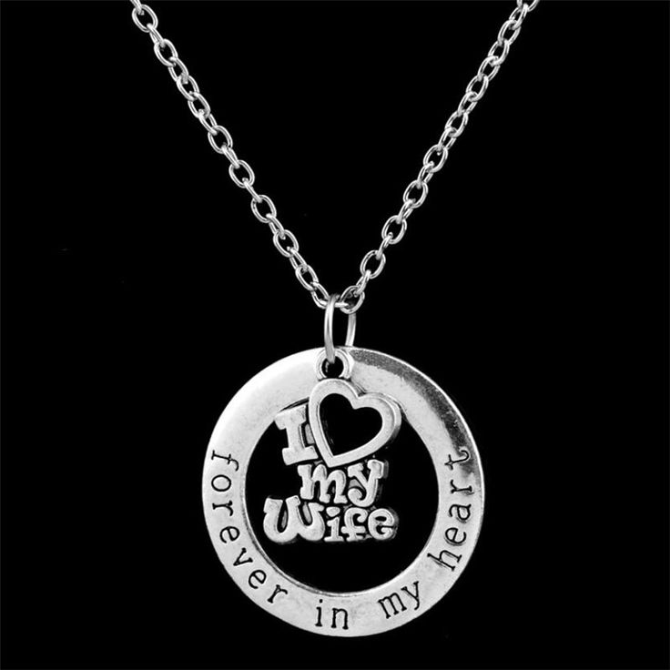 Beautiful Christmas Love Necklace Pendant for Husband //Price: $14 & FREE Shipping //     #pendant