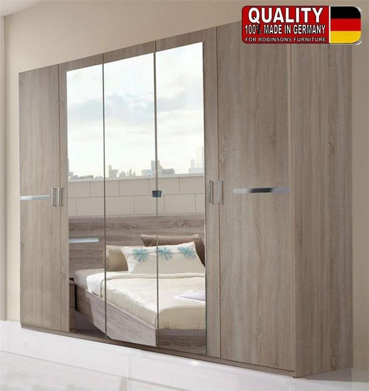 German Anna Montana Oak Bedroom 225cm Wardrobe Fitment with Mirrors. 17 Best images about Furniture collection on Pinterest   Sliding