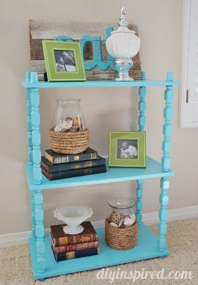 Painting Old Furniture: A Thrift Store Makeover really great blog for thrift store diy