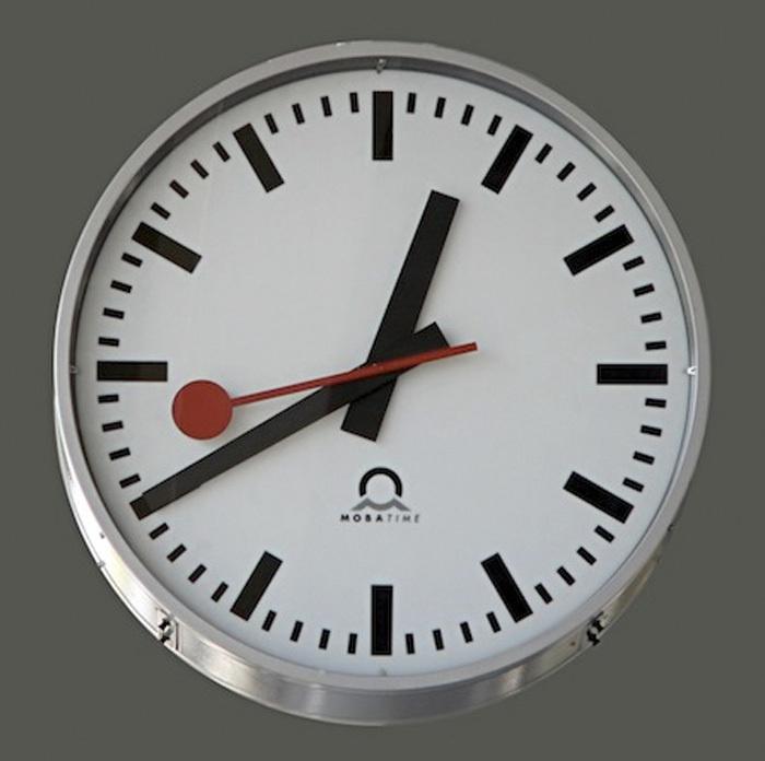 Swiss Railway Clock since 1944 by Since* The Blog