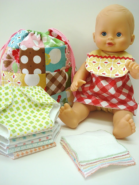 These are AWESOME patterns for baby doll clothes and accessories!