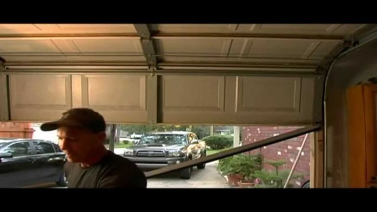 Change your bottom seal on your garage door. www.paulstoolbox.com