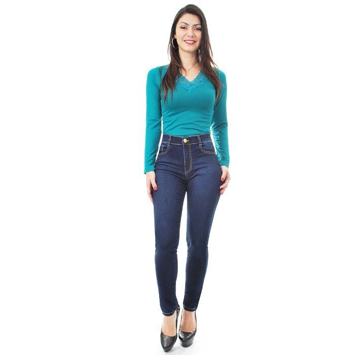 Calça Jeans Jegging Sawary Feminina
