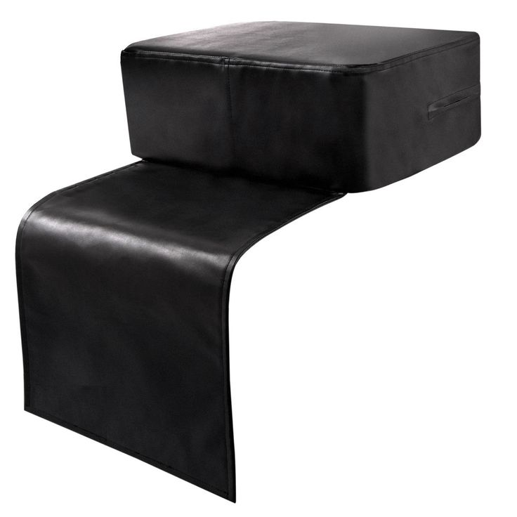 Black Barber Beauty Salon Spa Equipment Child Booster Seat Styling Chair Cushion