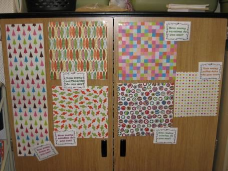 Estimation PostersGood Ideas, Schools Math, Pattern Wraps, Wrapping Papers, Pattern Paper, Scrapbook Paper, Estimation Station, Wraps Paper, Estimation Ideas