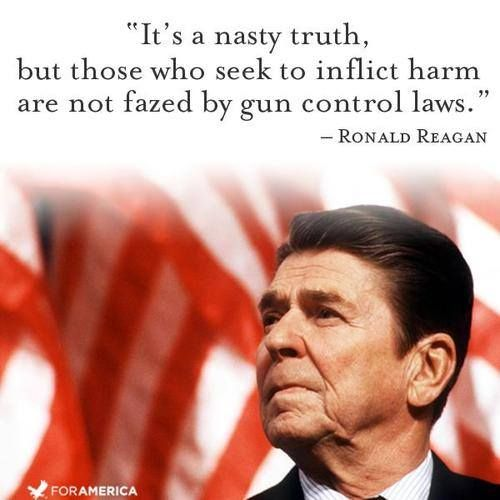 Ronald Reagan on Gun Control