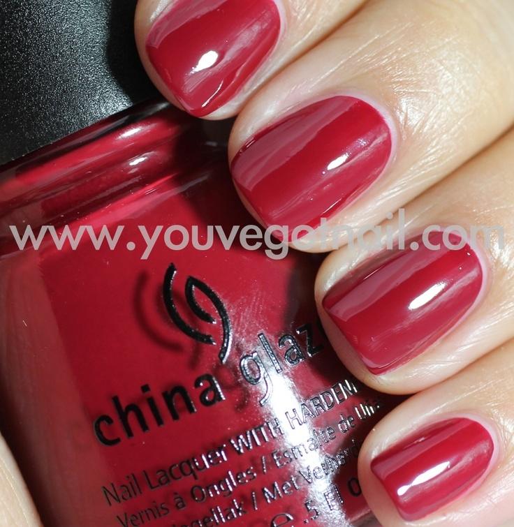 china glaze city siren, love the color