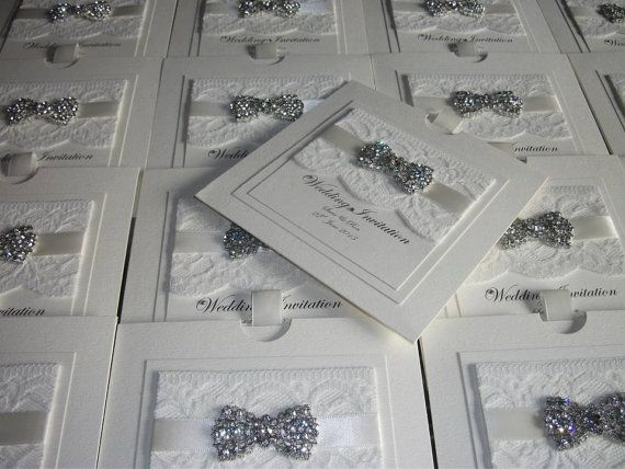 Luxus Spitze Hochzeit Einladung The Vintage Bogen Beispiel auf Etsy, CHF5.84