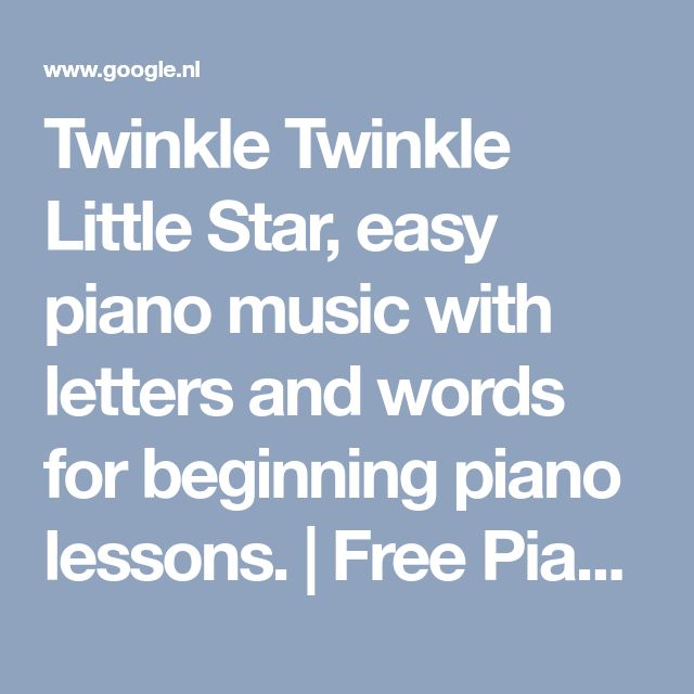 Twinkle Twinkle Little Star Free Sheet Music For Piano: Best 25+ Sheet Music With Letters Ideas On Pinterest