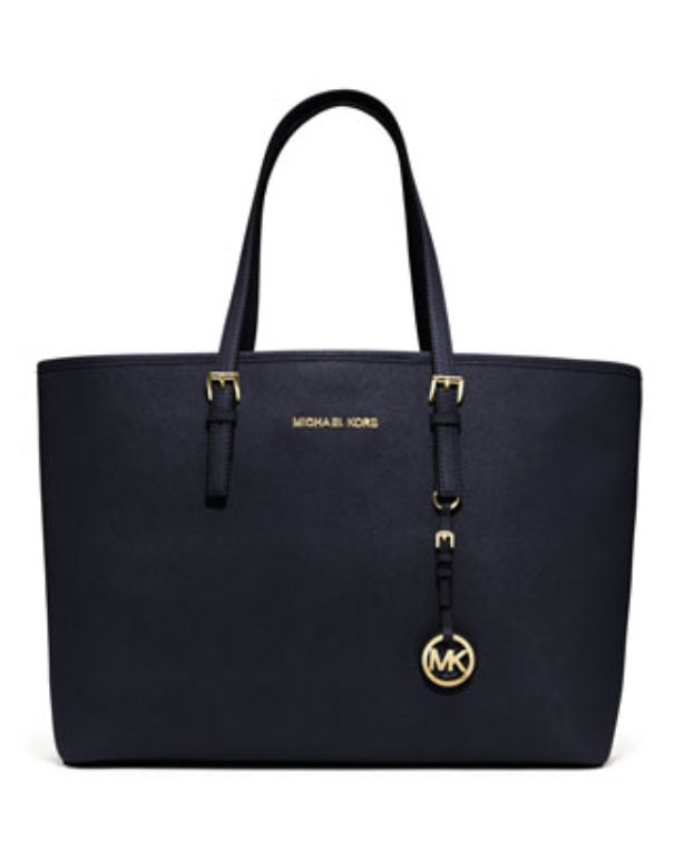 MICHAEL Michael Kors Medium Jet Set Multifunction Saffiano Travel Tote