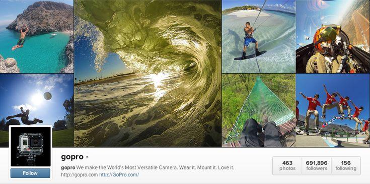 #GoPro's Instagram #Video Strategy