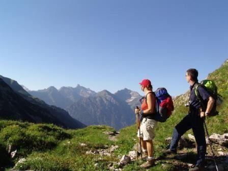 Alpenüberquerung - die Wanderung auf dem E5 von Oberstdorf nach Meran