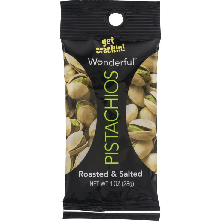 Wonderful Pistachios Roasted & Salted 1.5 oz Pack