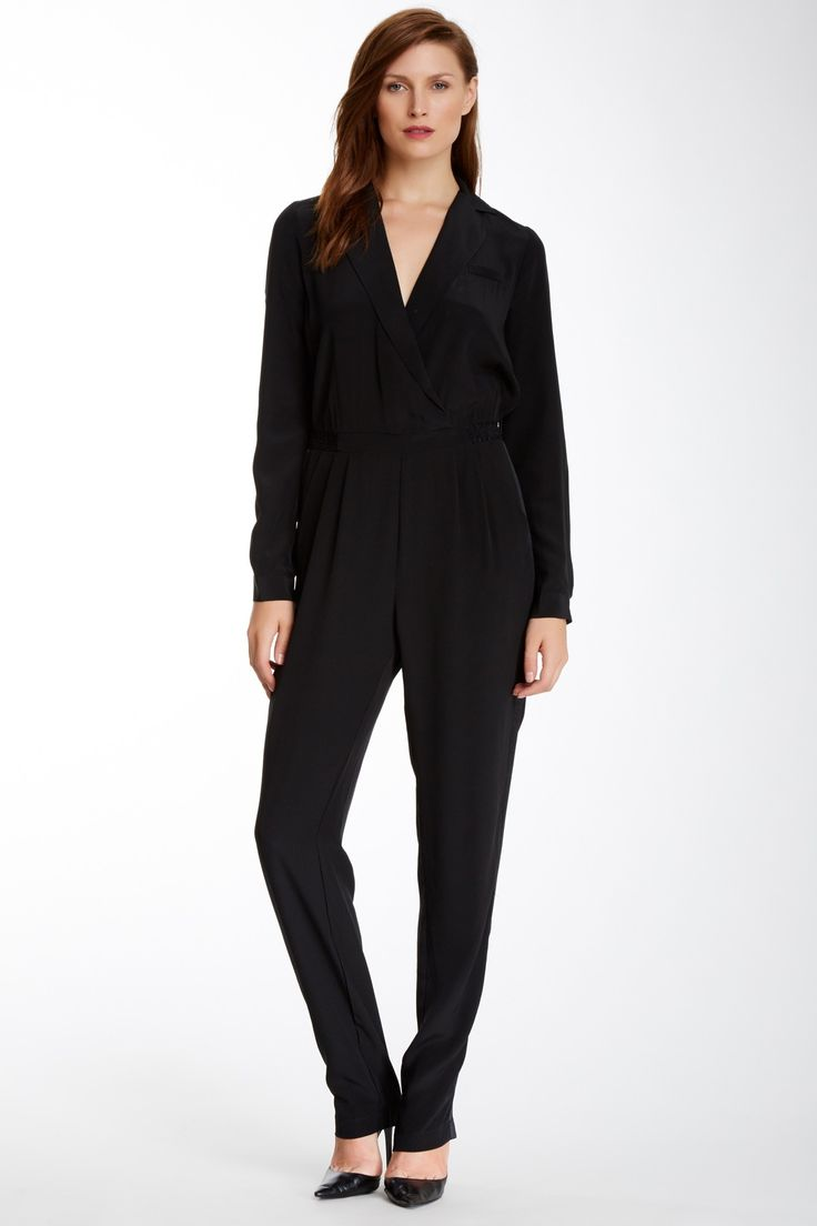 Cynthia Vincent | Cynthia Vincent Smocking Detail Silk Jumpsuit | Nordstrom Rack