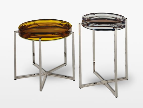 LENS TABLE  MCB-60100  Design McCollin Bryan: Side Tables, Hunt'S Lens Tables, Lenses Table, Holly Hunt'S Lens, Bryans Furniture, Design Mccollin Bryans, Small Spaces, Hollyhunt, Design Furniture
