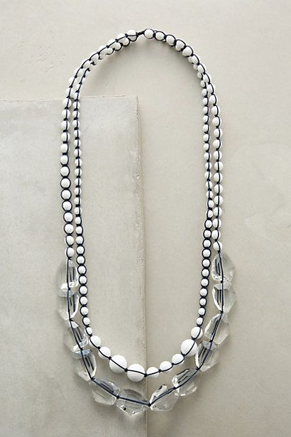 Neo Agate Layer Necklace anthropologie B Jewelry Neck