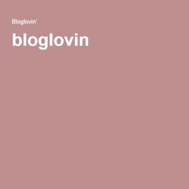 bloglovin '
