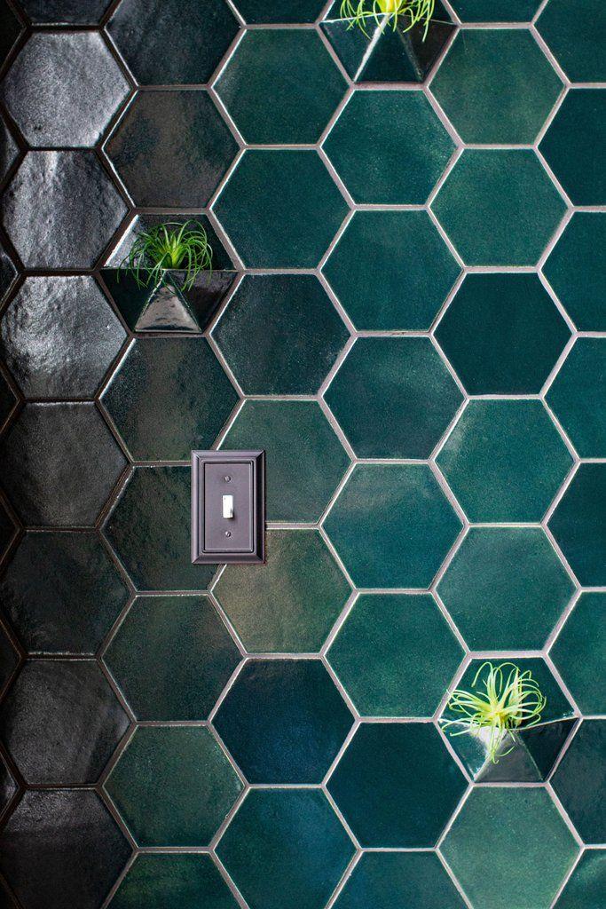 Custom Tile Plant Wall Mercury Mosaics Custom Tile Design