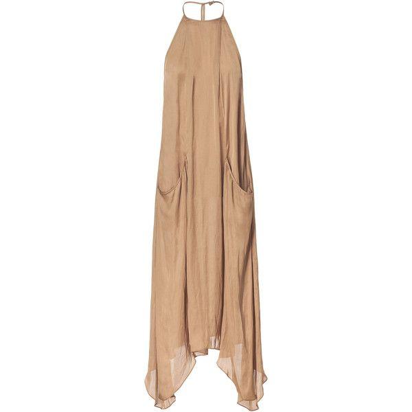 Zara Long Dress with Pockets    #style #dress