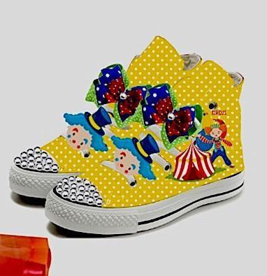 Rainbow Circus Birthday Inspired Shoe (CONVERSE)